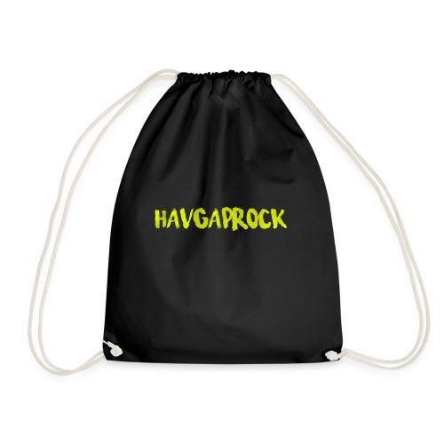 Havgaprock gul tekst - Gymbag