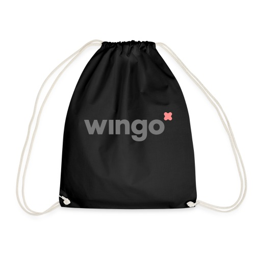 wingo logo 2 col (svg) - Drawstring Bag