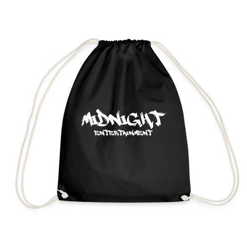 Midnight Entertainment weiss - Turnbeutel