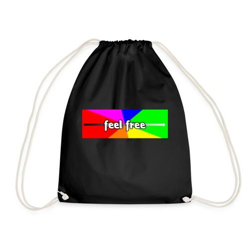 Feel free enjoy - Turnbeutel