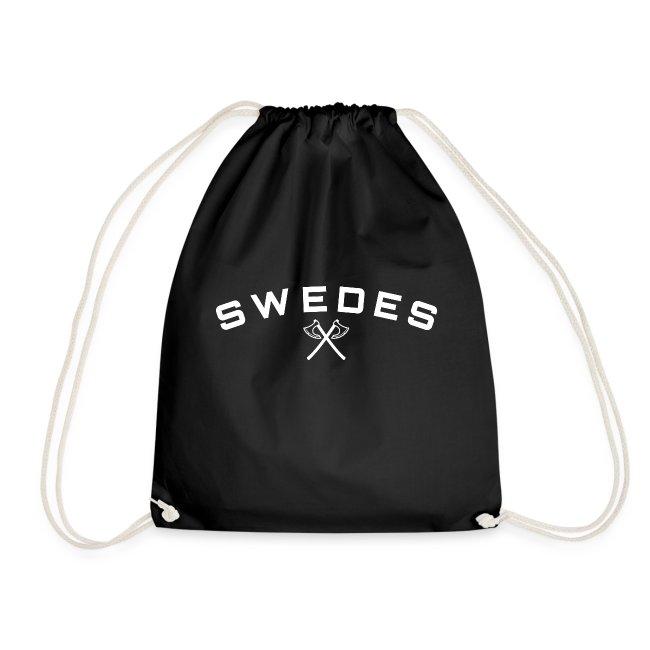 swedes, white print