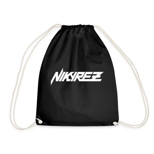 Nikyrez White Logo - Sacca sportiva