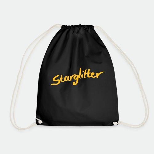 Starglitter - Lettering - Drawstring Bag