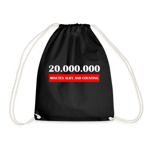200000 Minutes Alive - Gymtas