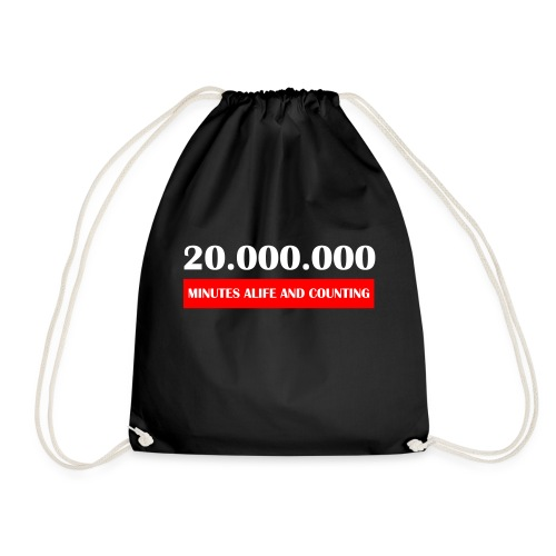 200000 Minutes Alive - Turnbeutel