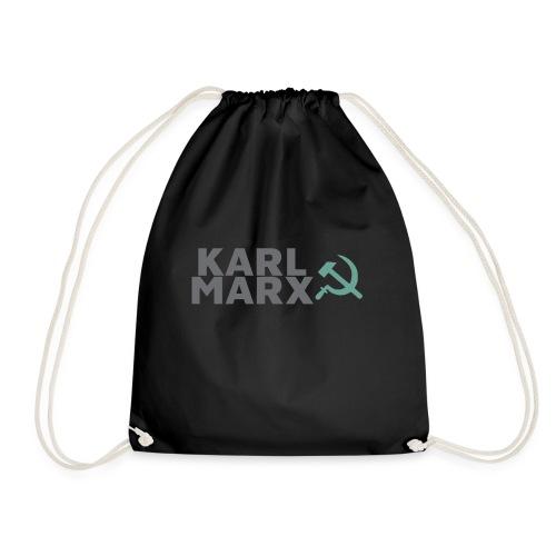 Karl Marx Logo - Sacca sportiva