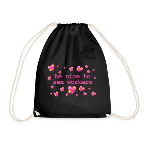benicetosexworkers - Drawstring Bag