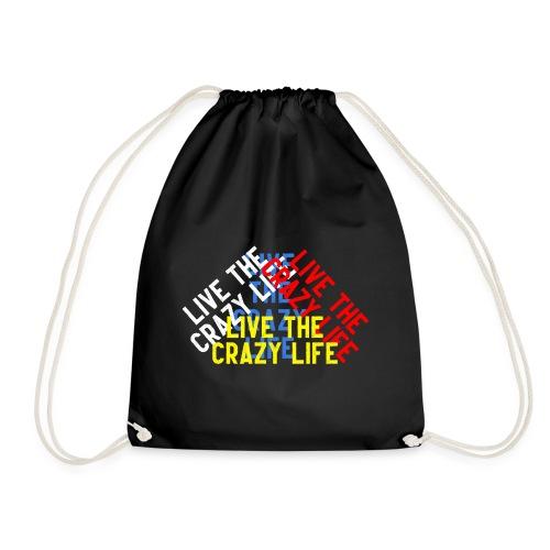 LIVE THE CRAZY LIFE - Mochila saco
