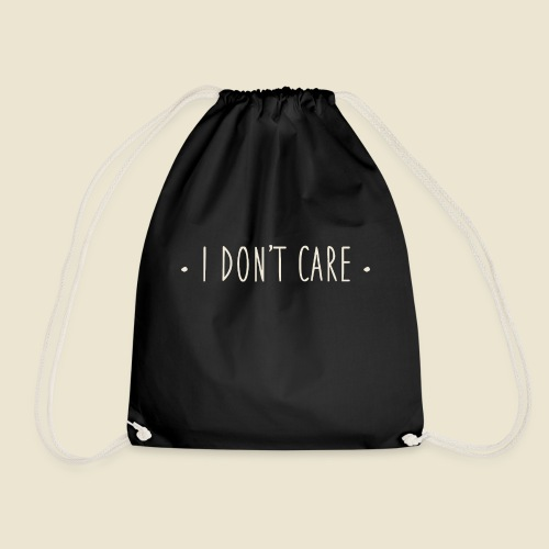 I don't care - Sac de sport léger
