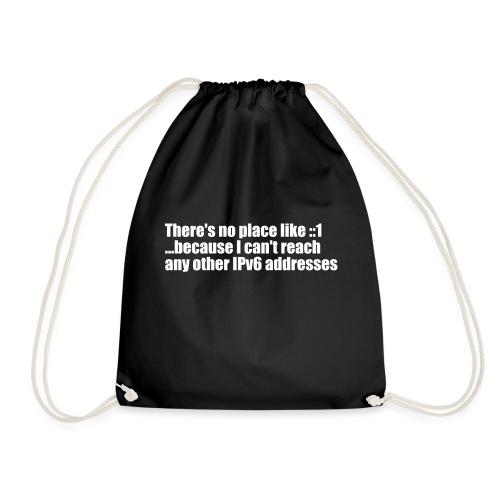 IPv6 is broken;) - Drawstring Bag