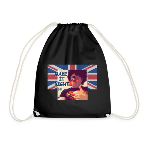 Fred - Make It Right British Flag - Turnbeutel