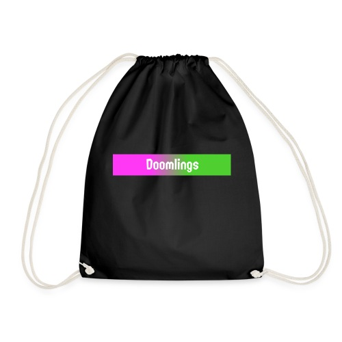 Doomlings Banner - Drawstring Bag
