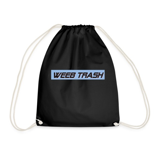 Weeb trash - Drawstring Bag