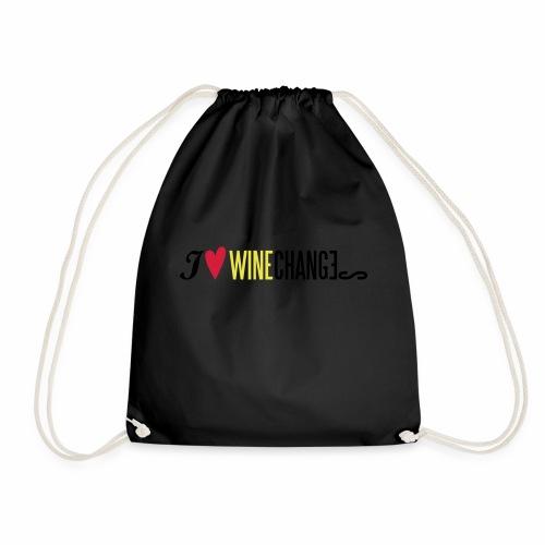 WineChanges I love 3 - Turnbeutel