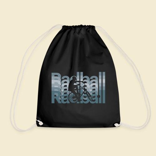 Radball | Typo Art - Turnbeutel