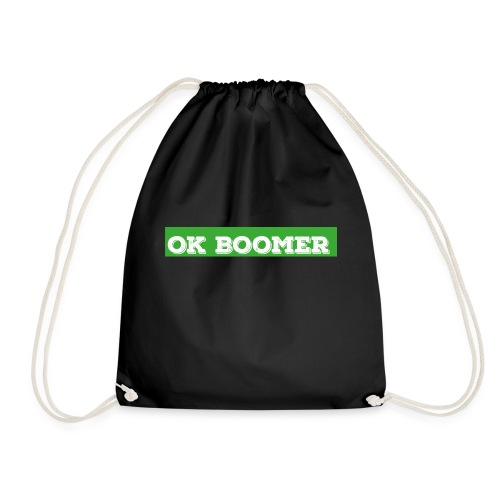 okboomer green - Turnbeutel