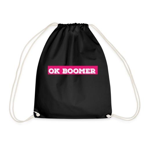 okboomer pink - Turnbeutel