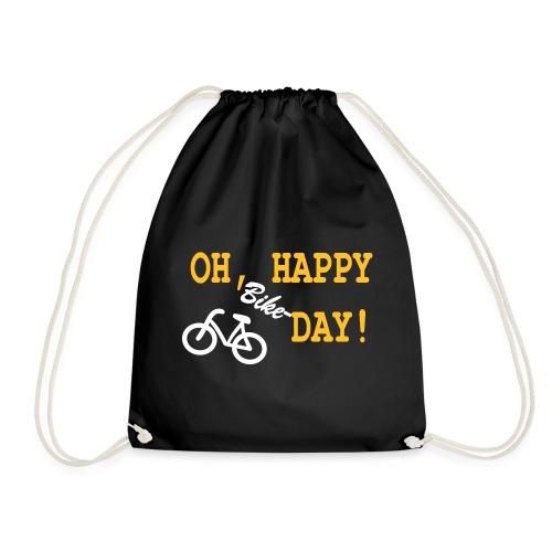 Oh Happy Bike Day - Turnbeutel