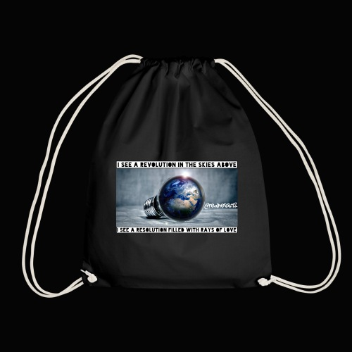 I See A Revolution!! Truth T-Shirts!! #Rebellion - Drawstring Bag