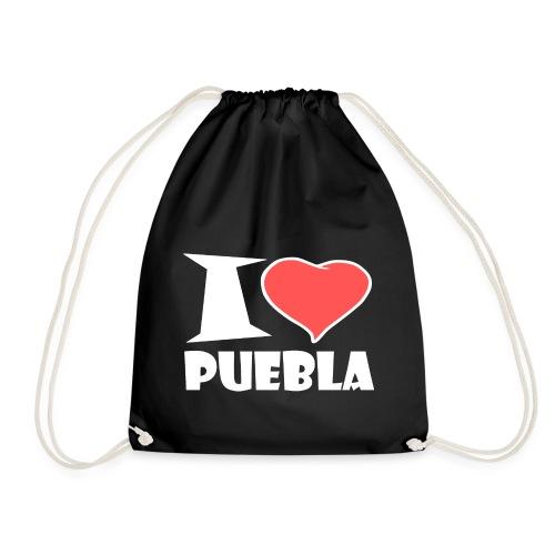 I love Puebla - Turnbeutel