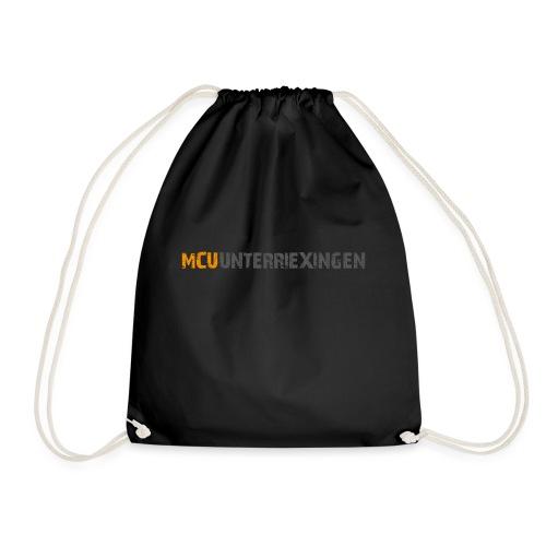 mcu logo 2018 schrift 2c - Turnbeutel