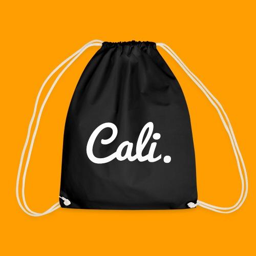 Cali s Logo Weiss - Turnbeutel