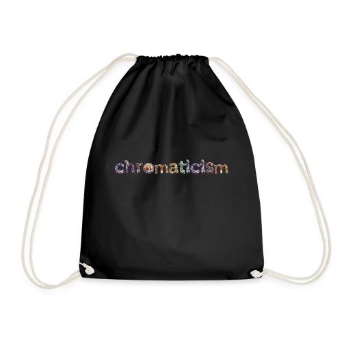 chromaticism logo tee (f) - Drawstring Bag
