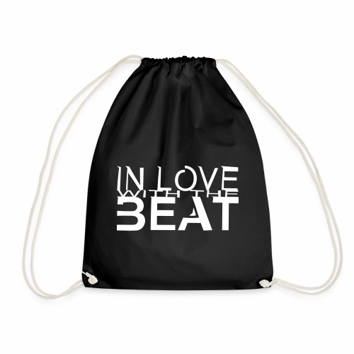 in love with the beat - Turnbeutel