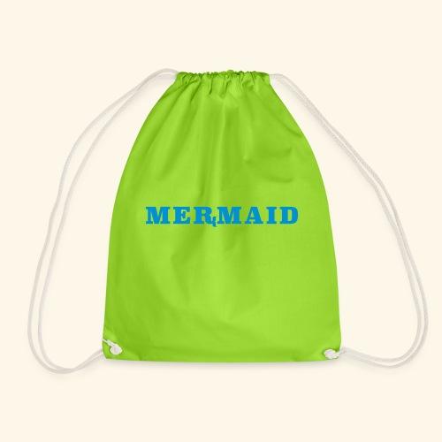 Mermaid logo - Gymnastikpåse
