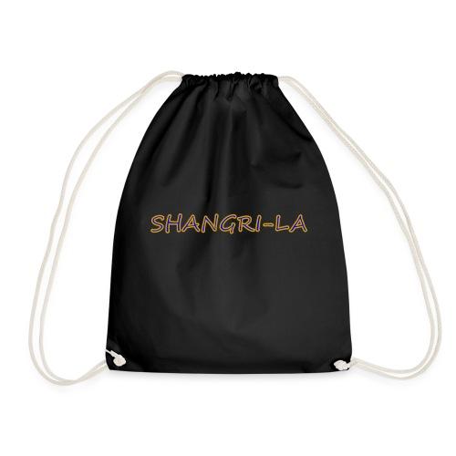 Shangri La goldblau - Turnbeutel