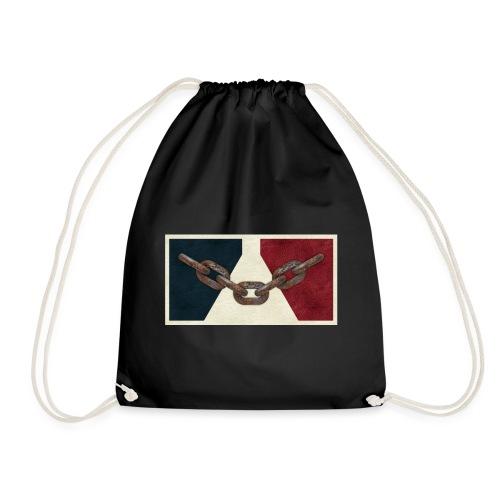 Black County Flag - Drawstring Bag