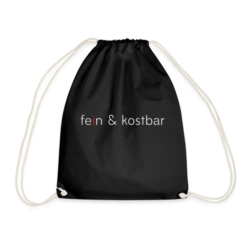 fein & kostbar | Logo | Marke | Merch - Turnbeutel