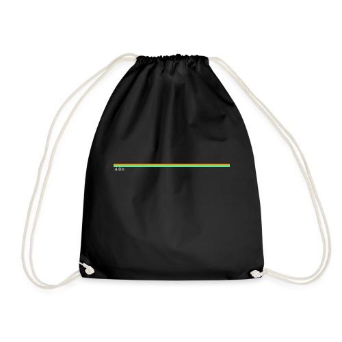 48k zx spectrum inspired rainbow stripe - Drawstring Bag