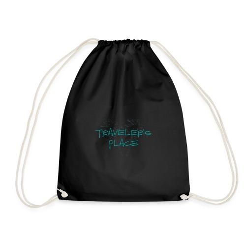 Cool Traveler's Place Palm Design - Turnbeutel