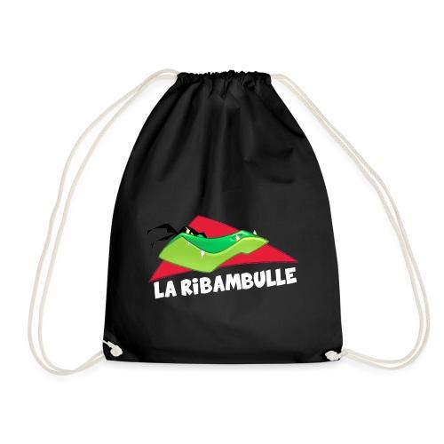 laRibambulle logoHD blanc png - Sac de sport léger