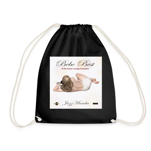 dc_3071 Bebo_Best _-_-_-_ JazzMamba_ album_cover- - Drawstring Bag