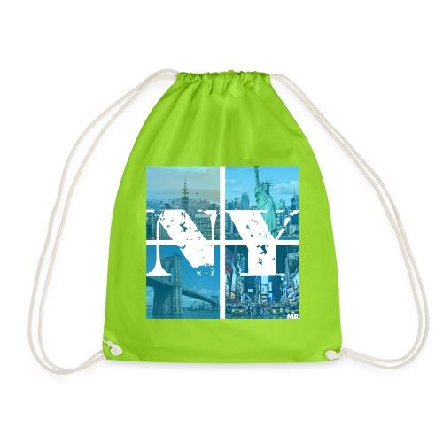 NEW YORK BLUE - Turnbeutel