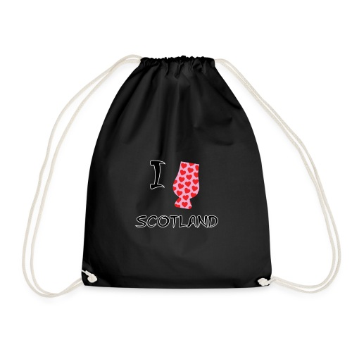 I Love Scotland - Glencairn - Drawstring Bag