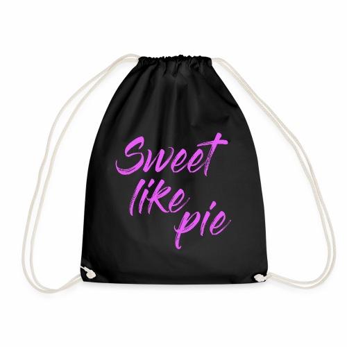 Sweet like pie - Drawstring Bag