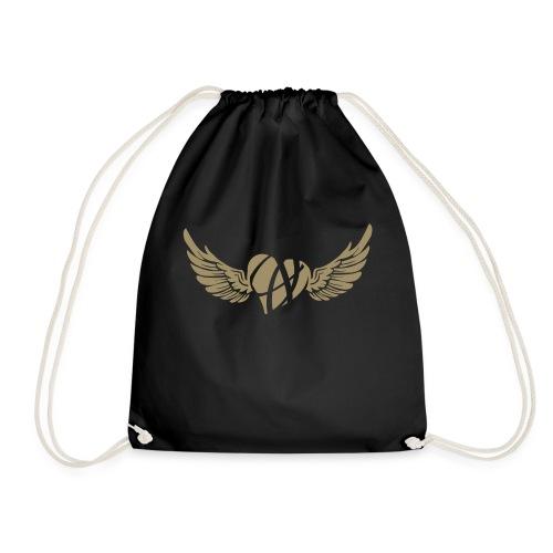 Broken flying heart ღ - Drawstring Bag