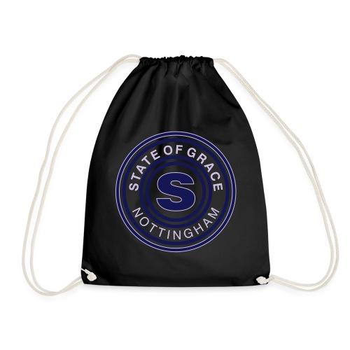 state of grace logo - Drawstring Bag