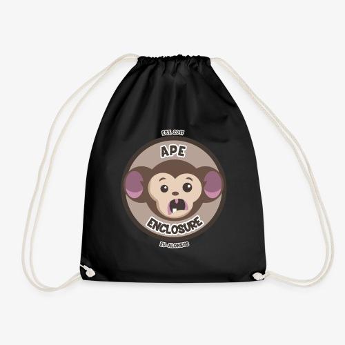 Ape Enclosure Logo - Drawstring Bag
