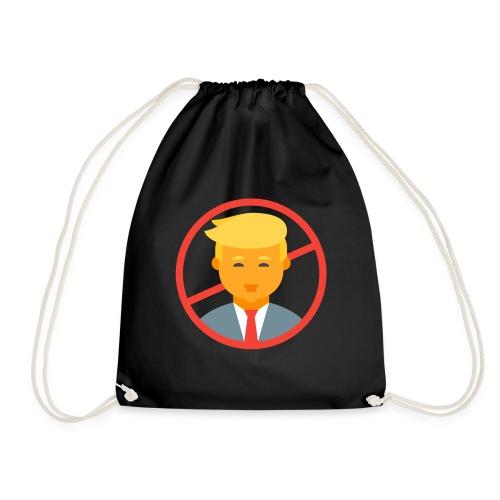 Anti trump - Drawstring Bag