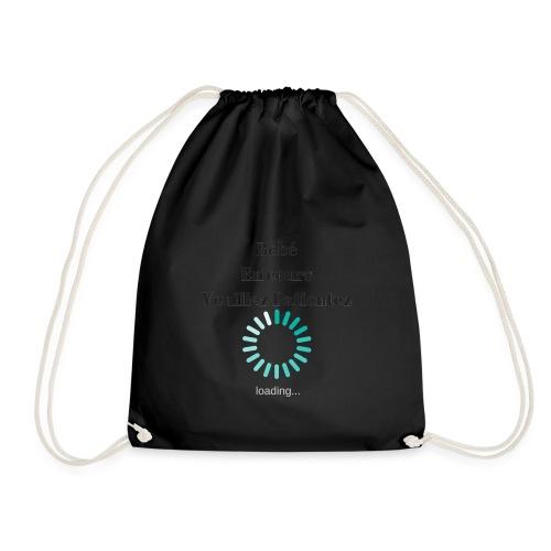 Bébé en cours veuillez patientez - Drawstring Bag