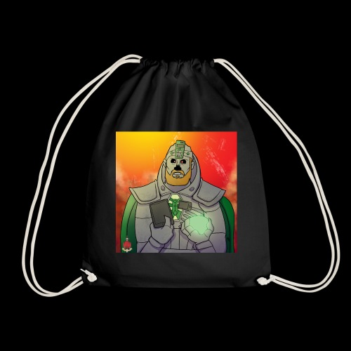 Elliot the Necron WITH MORE COLOUR? - Drawstring Bag