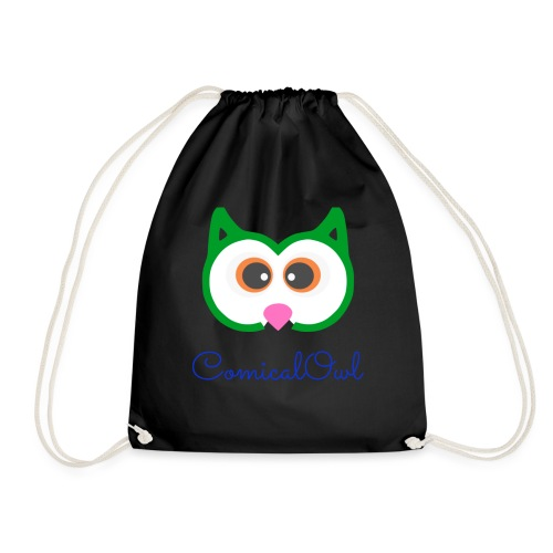 Cartoon Owl - Drawstring Bag