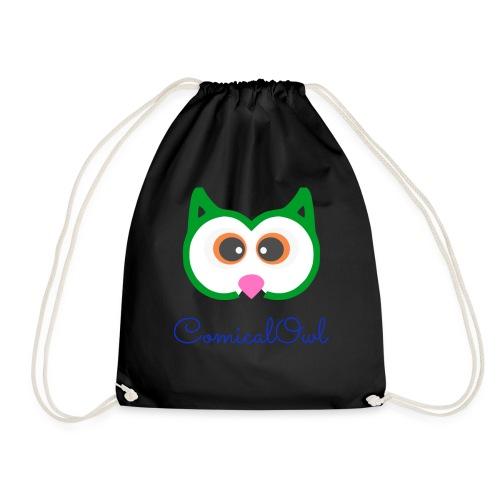 Cartoon Owl - Drawstring Bag