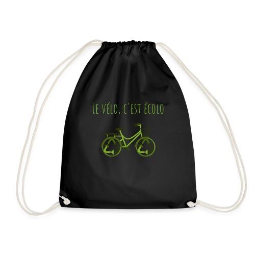 Le vélo, c'est écolo - Sac de sport léger