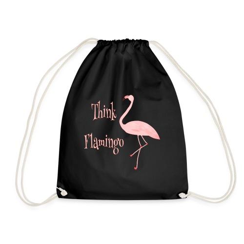 Think Flamingo - Turnbeutel