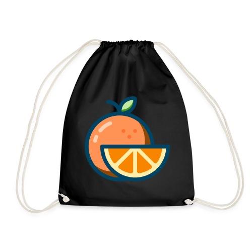 orange - Drawstring Bag